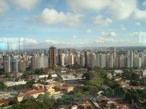 """""""Vista panorâmica de Curitiba, da Torre daOI/Brasil Telecom"""""""